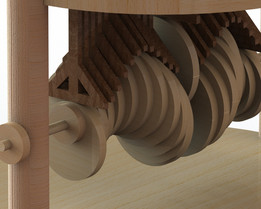 Proyecto de mecanismos en solidworks