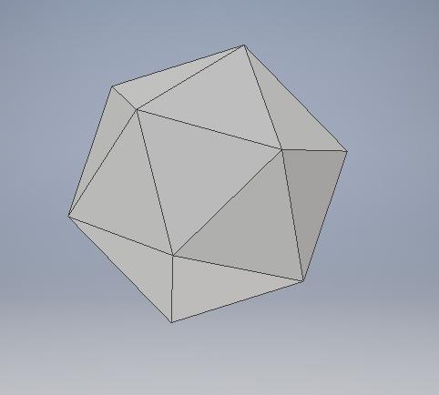 Icosahedron | 3D CAD Model Library | GrabCAD