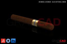 Corona Cigar - 16.5mm x 120mm