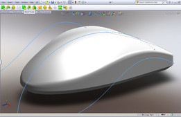Perfect modeling of SolidWorks mouse