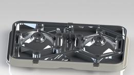 Rotax 657 cylinderhead