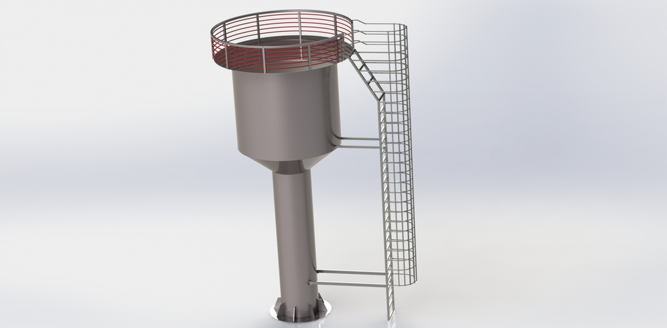 85 Download WATER TANK CAD MODEL Free