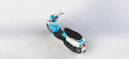 Motorcycle Yamaha Fino