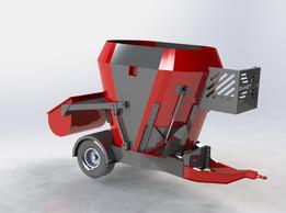 feeder mixer wagon