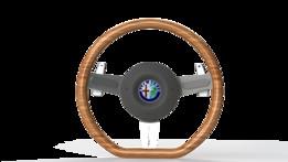 Alfa Romeo wood steering wheel