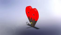 SOLIDWORKS, heart - Recent models   3D CAD Model Collection