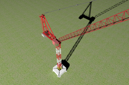 Skyscraper crane (BETA)
