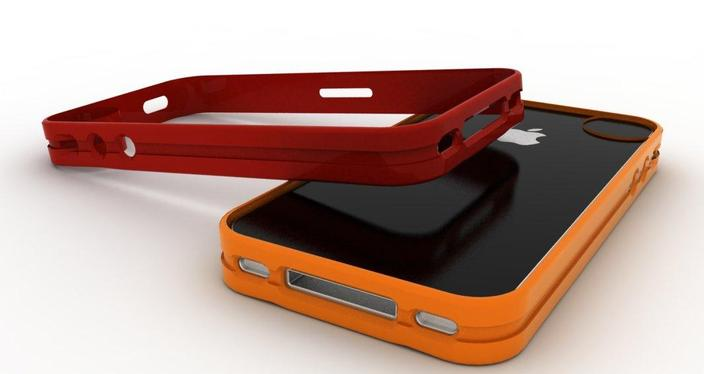 Aluminum iphone 4 case