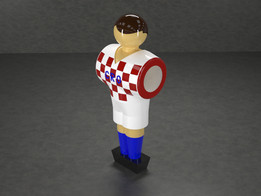 Table Soccer figure - Croatia
