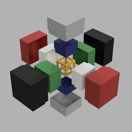 Nesting cubes