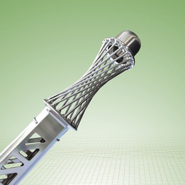 Bicycle seat post with shock absorber (a new look)