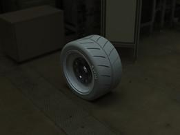 Formula Ford Split Rim Assembly