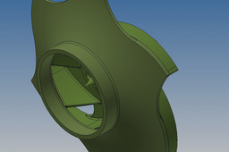 Wax Impeller for casting using the lost wax process