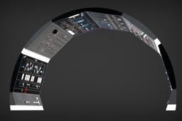 Millennium Falcon: Cockpit Sidewalls Full Detail