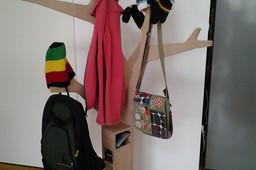 Clothes Rack Tree Design