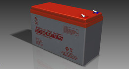 Microlyte red top battery