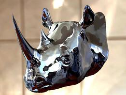 Носорог голова