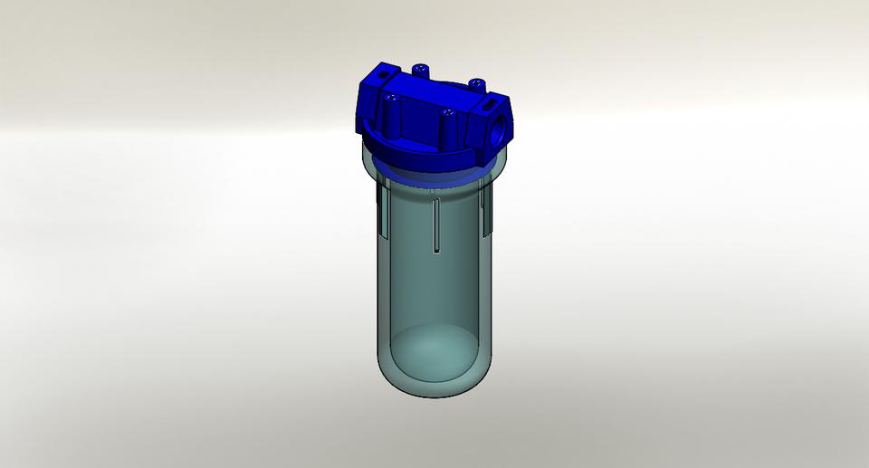 Water Filter 3d Cad Model Library Grabcad