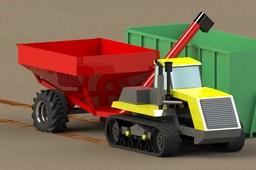 Tractor Caterpillar Challenger