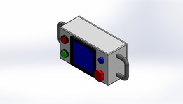 CONTROL BOX WITH HMI.