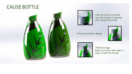 CAUSE BOTTLE - SAVE TREES