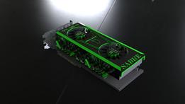 SABRE Titan Killer Dual GTX 1080 (concept card)