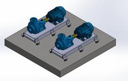 isolator for horizontal pumps
