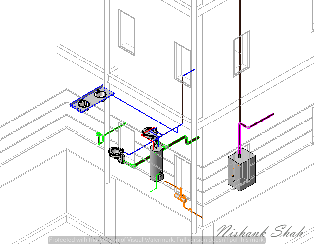 Plumbing Template using Revit MEP | 3D CAD Model Library