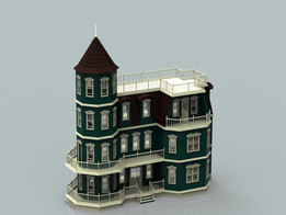 Dollhouse - Victorian mansion