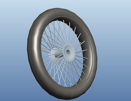 A Bicycle Tyre