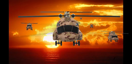 Helicopter-chinook