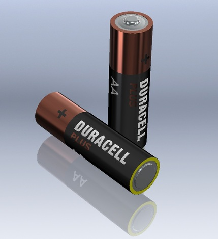 AA Duracell Battery