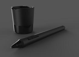 Wacom Pen with Holder