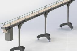 Sheet metal Conveyor