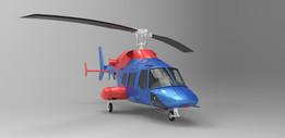 Helicopter bell ranger