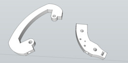 Extruder Clearance Kit for Prusa
