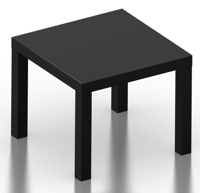Superb Ikea Lack Table 3D Cad Model Library Grabcad Gmtry Best Dining Table And Chair Ideas Images Gmtryco