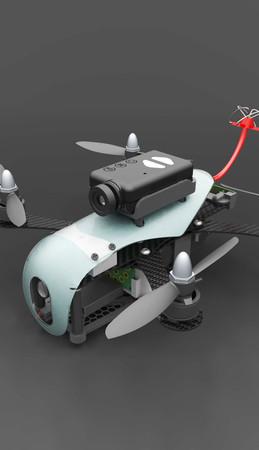 Aerotek j-mini quadcopter Mod