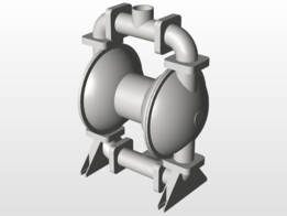 Diaphragm recent models 3d cad model collection grabcad mk40 al aluminum st st st joffee air diaphragm pump ccuart Choice Image