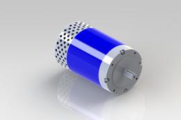 36-48V DC motor from D&D motors model ES-22-2