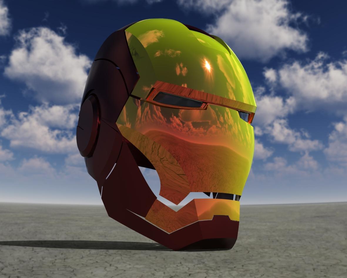 Iron Man Helmet 3d Model Iron Man Helmet Stl 3d Cad
