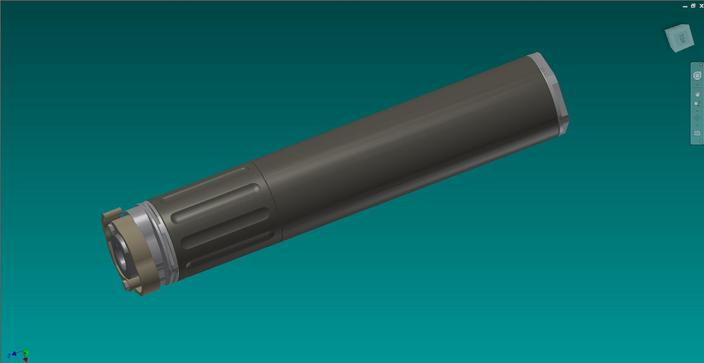.308W Hybrid Suppressor (Krestel and Ranger Baffles like)