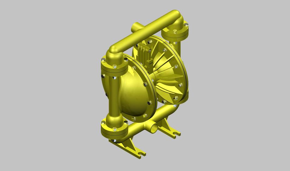 Diaphragm pump versamatic 3d cad model library grabcad ccuart Images