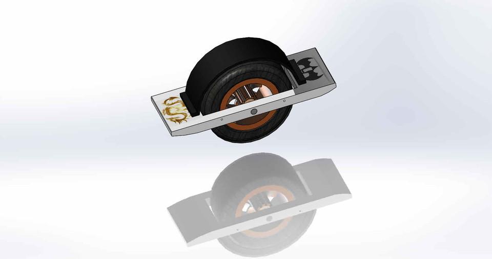 OneWheel   3D CAD Model Library   GrabCAD