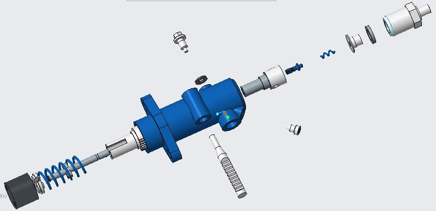 Fuel Pump   3D CAD Model Library   GrabCAD