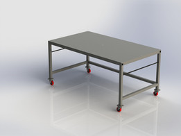 4' X 7' X 40'' Welding Table