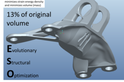 Topology Optimized GE Bracket