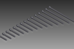 DIN 94 Split Pins (Cotter Pins). Nom. Diameter 6,3mm