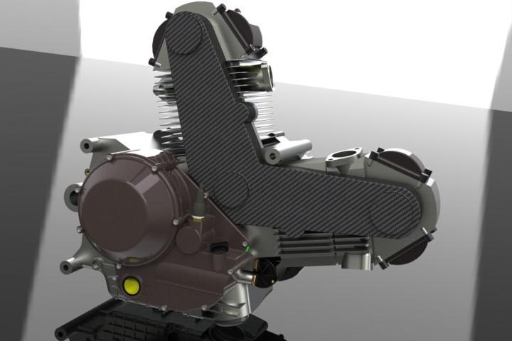 Ducati 900cc air-cooled
