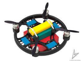 Quadcopter 3D printer AD03- By Adriano Barissa